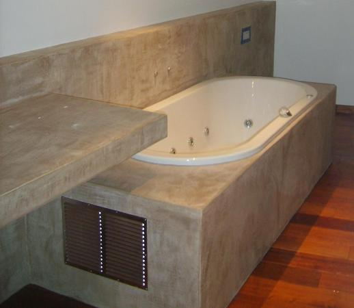 Renov eco r alise vos rev tements en mortex - Enduit decoratif salle de bain ...